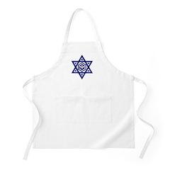 Masonic Star of David BBQ Apron