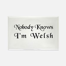 The Welsh Rectangle Magnet