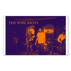 The Wire Riots Decal