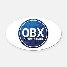OBX - Outer Banks Oval Car Magnet