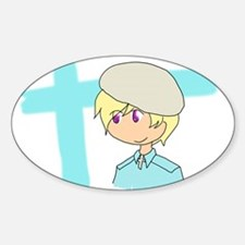 Finland Sticker (Oval)