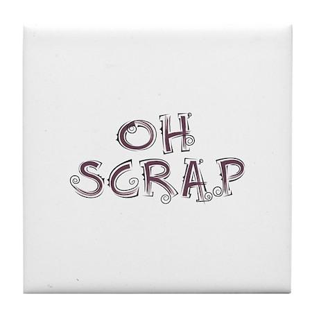 Oh Scrap Tile Coaster