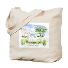 Goats- Angora Serenity Tote Bag