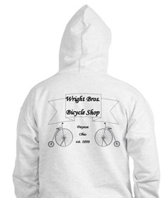 Wright Brothers Airplane Shop Hoodie