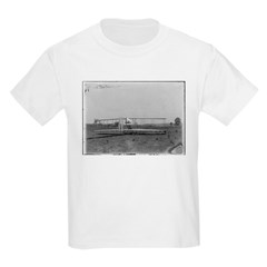 Wright Brothers Airplane Shop Kids T-Shirt