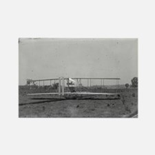 Wright Brothers Airplane Shop Rectangle Magnet