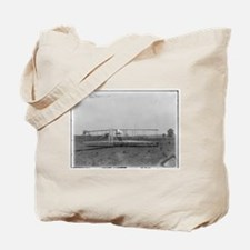 Wright Brothers Airplane Shop Tote Bag