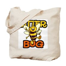 Jitter Bug Bee Tote Bag
