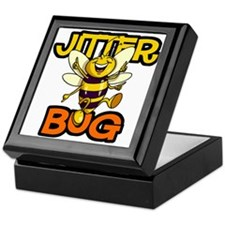 Jitter Bug Bee Keepsake Box