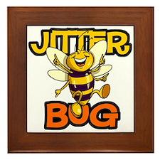 Jitter Bug Bee Framed Tile