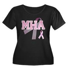 MHA initials, Pink Ribbon, T