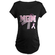 MGM initials, Pink Ribbon, T-Shirt