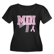 MDI initials, Pink Ribbon, T