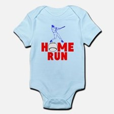 HOME RUN - BASEBALL SLUGGER Infant Bodysuit