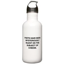 The Subject Of Cheese Water Bottle