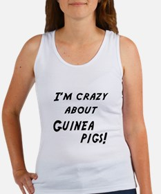 Im crazy about GUINEA PIGS Women's Tank Top