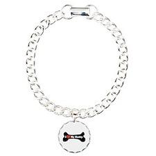 I Love My Husky - Dog Bone Bracelet