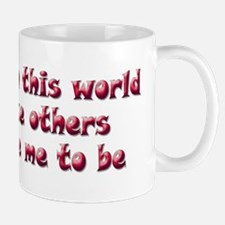 Not on this World, red Mug