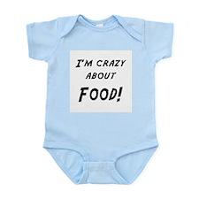 Im crazy about FOOD Infant Bodysuit