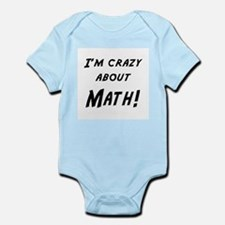 Im crazy about MATH Infant Bodysuit