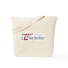 NB_Kerry Blue Terrier Tote Bag