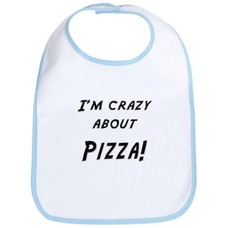 Im crazy about PIZZA Bib