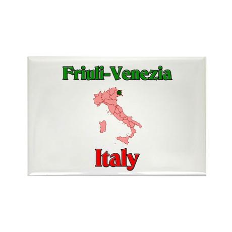 Friuli-Venezia Rectangle Magnet (10 pack)