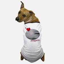 I Love Niagara Falls Dog T-Shirt