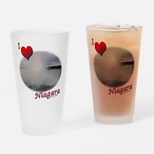 I Love Niagara Falls Drinking Glass