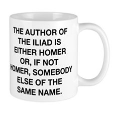 The Author Of The Iliad Mug