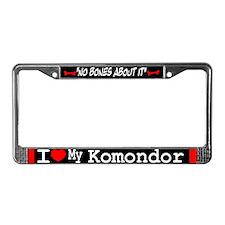 NB_Komondor License Plate Frame