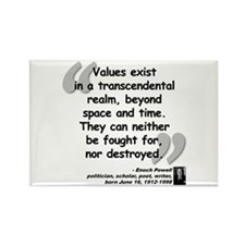Powell Values Quote Rectangle Magnet (10 pack)