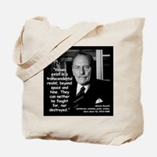 Powell Values Quote 2 Tote Bag