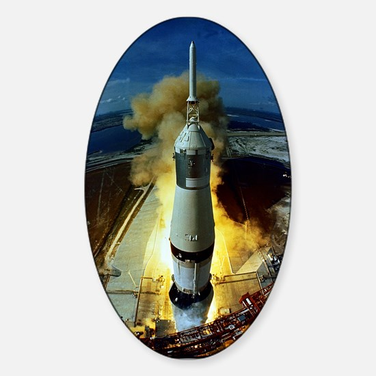 Apollo 11 Launch Oval Decal
