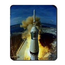 Apollo 11 Launch Mousepad