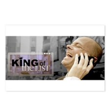 King Of The List Banner Postcards (package Of 8)