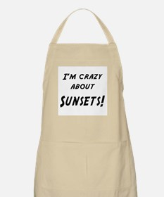 Im crazy about SUNSETS Apron