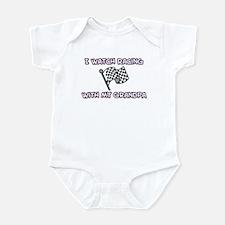 Racing - Grandpa Infant Creeper
