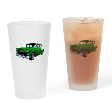 1955 Chevy Bel Air Drinking Glass
