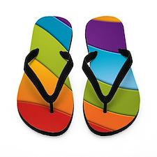 Rainbow Magic Flip Flops