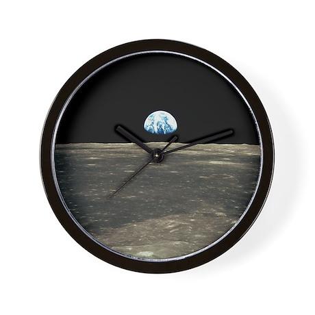 Earth Rising Wall Clock