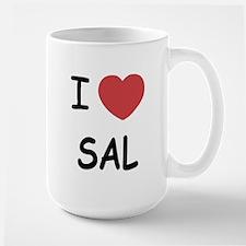I heart SAL Large Mug