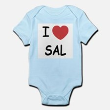 I heart SAL Infant Bodysuit