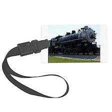 Steam Engine Luggage Tag