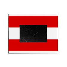Austrian flag Picture Frame
