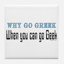 Go Geek Tile Coaster
