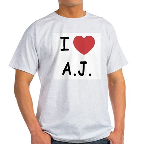 I heart A.J. Light T-Shirt
