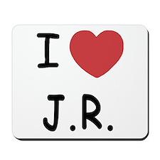 I heart J.R. Mousepad