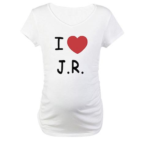 I heart J.R. Maternity T-Shirt