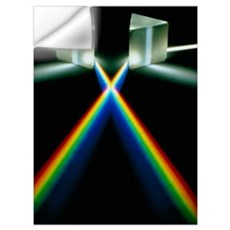Light through prisms Wall Decal